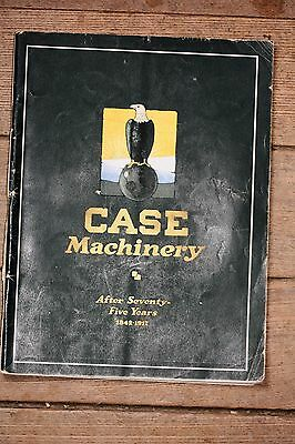 "ORIGINAL ""Case Machinery after Seventy-Five Years 1842-1917"" Catalog, J.I. Case"