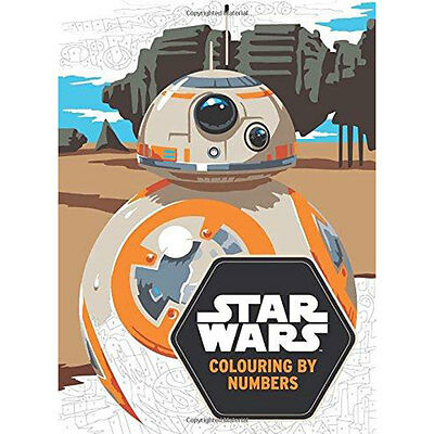 Star Wars - Colouring by Numbers (Paperback), Children's Books, Brand New