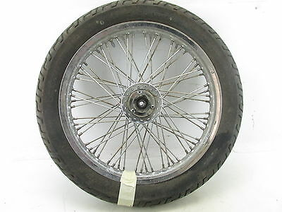 87 Suzuki Intruder 1400 Vs1400 Glp Front Wheel Rim Tire