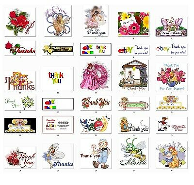 30 Personalized Return Address labels Thank You Buy 3 get 1 free (Th1)