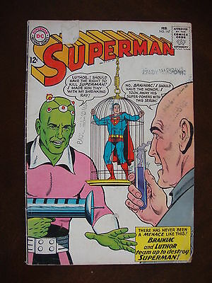 Superman #167 FA Brainiac And Luthor Team Up To Destroy Superman