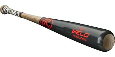 "Rawlings Velo R271VG-32.5/29.5 Ash 32.5"" / 29.5 oz. Wood Baseball Bat"