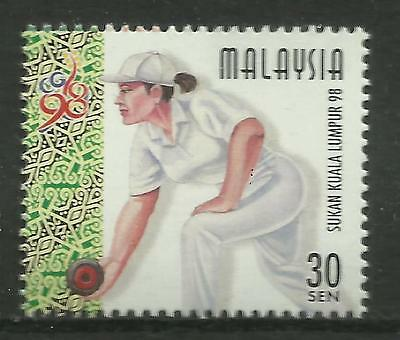 MALAYSIA 1998 COMMONWEALTH GAMES LAWN BOWLS 1v MNH
