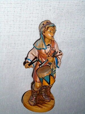 "Fontanini Drummer Boy 1989 Made in Italy Figure 5"" tall"