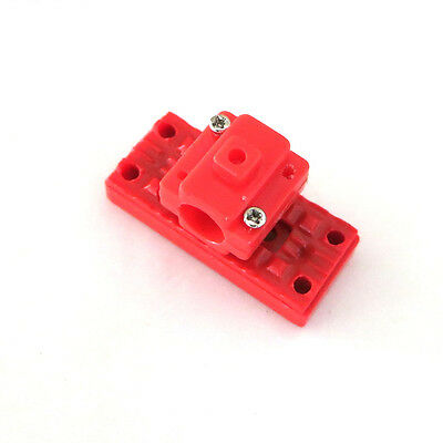 1Pcs Red Plastic Motor Bracket Toy Fastener For 716 614 Motor Toy Diy Accessorie