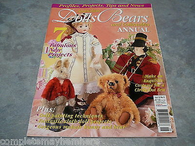 Australian Dolls, Bears and Collectables Vol. 12 No. 5 Annual doll painting