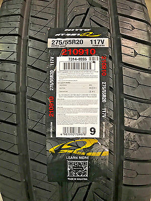 4 New 275 55 20 Nitto NT421 Tires