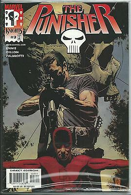 Punisher #3  (Marvel Knights)  2000 Series