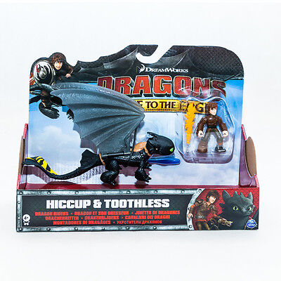 Dragons Race to the Edge Drachenzähmen leicht gemacht Hiccup & Toothless gelb