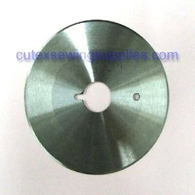 "3-1/2"" Allstar AS-350 Round Fabric Cutting Machine Replacement Blade"