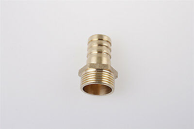 3/4BSP Male Thread to 19mm Hose Barb Straight Fitting Adapter Coupler 5 Pcs