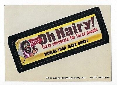 1974 Topps Wacky Packages 7th Series 7 OH HAIRY! ex+