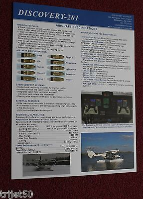 Discovery 201 Aircraft Brochure