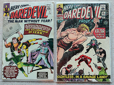 Marvel Comics Daredevil Collection  65 comics Vol 1 Silver age
