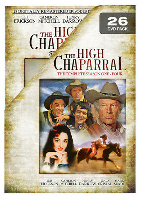 The High Chaparral: The Complete Collection (Season 1 - 4) DVD R4 (New)!