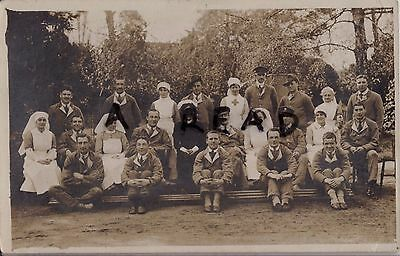 WW1 Wounded Soldier Nurse VAD Notts & Derby Regiment Australian Anzac