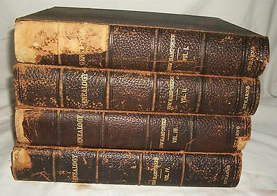 Genealogical and Family History of the State of New Hampshire Vintage 4 Vol. Set