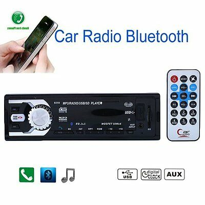 New 8258 Car Mp3 Player Bluetooth Usb Stereo Audio In Dash FM Radio IT