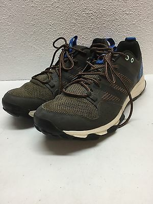 Adidas Kanadia TR 7 Brown & Blue Synthetic & Textile Sneakers Men's Size 12 M