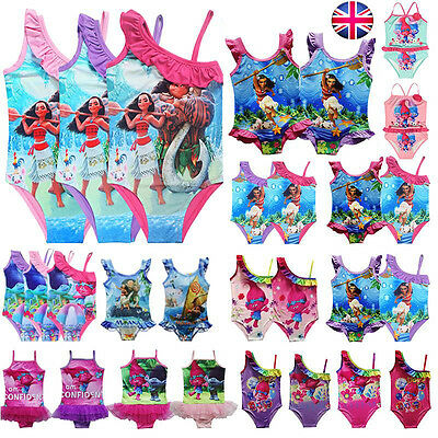 Kids Swimsuit Surf Suit Swimming Cartoon Costume Children Swimwear Age3-10 Years
