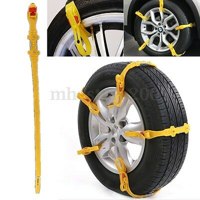 Anti-skid Chains For Automobiles Snow Mud Wheel Tyre Car Truck Tire Cable Ties