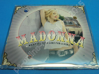"""5"""" Single CD Madonna What it feels like for a girl (K-017) 4 Tracks Germany 2001"""