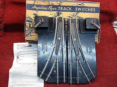AMERICAN FLYER No. 722A MANUAL CONTROL SWITCHES - READY TO GO BACK INTO SERVICE