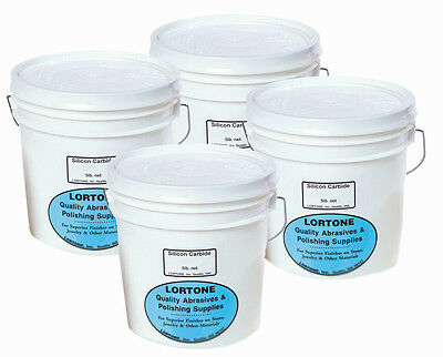 rle LORTONE LARGE 4-STEP TUMBLER GRIT KIT, for up to 60 lbs. rock