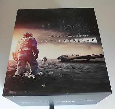 Interstellar Promo Rotating Earth Globe Book Matthew Mcconaughey Cd Art Promo