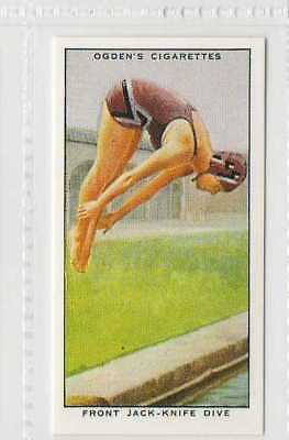 #47 front jack-kinife dive swimming r card