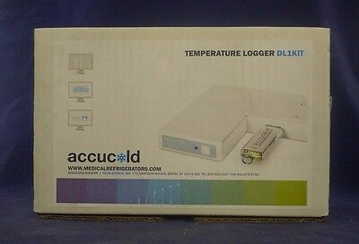 Accucold DL1KIT Temperature Logger NEW