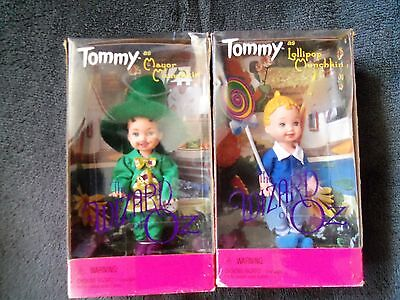 Barbie ~ WIZARD OF OZ ~ TOMMY as LOLLIPOP MUNCHKIN & MAYOR MUNCHKIN NRFB  1999