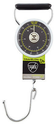Travelon Stop and Lock Luggage Scale - Black