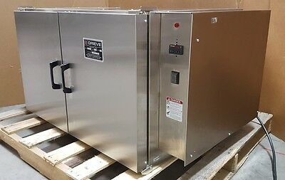 Grieve NB-350 Industrial Oven 2000W Stainless Steel Convection Heat *Modified*