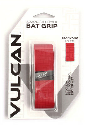 Vulcan V175-RED Standard Bat Grip 1.750 mm Bright Red