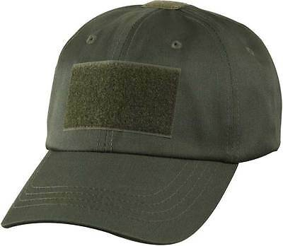US PMC OPERATOR TACTICAL Contractor Military Mütze Cap oliv w Klett
