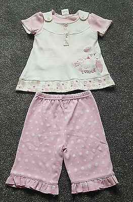 Baby Girls 3 piece lovely pink set by NURSERY TIME. Size 0-3 months. BRAND NEW.