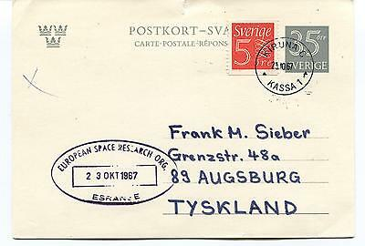 1967 ESRO European Space Research ESRANGE Kiruna Sverige Polar Antarctic Cover