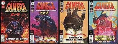 Gamera The Guardian of the Universe 1996 Comic set 1-2-3-4 Lot