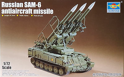 TRUMPETER® 07109 SAM-6 Anti-Aircraft Missiles System in 1:72
