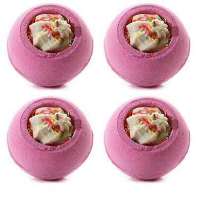 Bomb Cosmetics Fresh Berry Bath Blaster 4 Pack FREE P&P