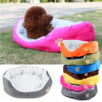 Cozy Pet Dog Cat Bed Puppy Cushion House Pet Soft Warm Kennel Dog Mat Blanket