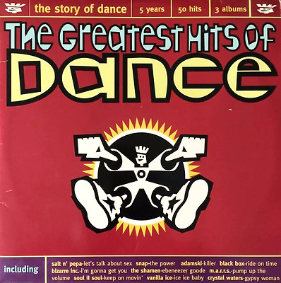 V/A - The Greatest Hits Of Dance (LP) (G++/G-VG)