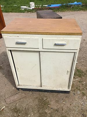 Retro Kitchen Base Unit For Restoration Formica  Reclaimed Reclamation 10/4/V