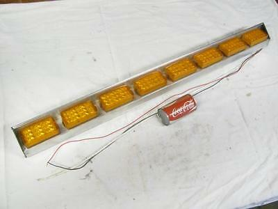 "Good Used Federal SignalMaster 42"" LED Directional Control Amber Warning Light"