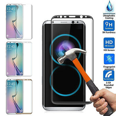 For Samsung Galaxy S8 PLUS Screen Protector Tempered Glass 3D Curve Glass Shield