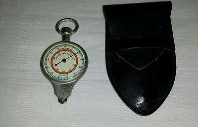 Vintage Antique Germany Compass And Map Reader Inches To Miles/ Cm To Km Working