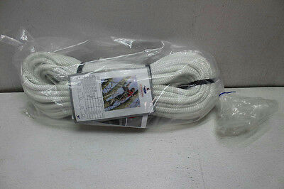 """New England Ropes Braided Safety Blue Climbing Rope 1/2"""" 120'"""