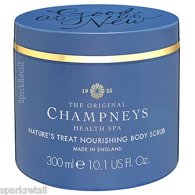 Champneys Spa As-Good-As-New Nature's Treat Nourishing Body SCRUB Polish 300ml