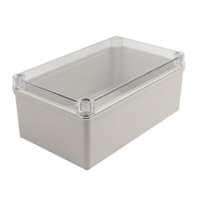 250x150x100mm Clear Cover Waterproof Junction Electronic Project Box Enclosure